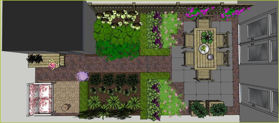 Tuin wales 4900 op maat incl ontwerp en aanleggen for Wat kost een zwemvijver aanleggen